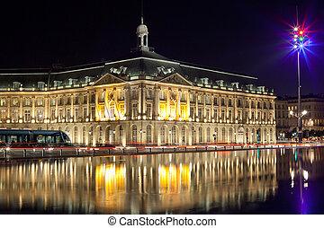 """bordeaux stock echange square - Bordeaux \""""place de la..."""