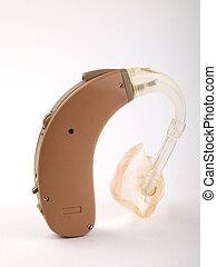 Hearing aid close up