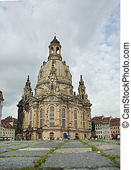 Church Frauenkirche in Dresden, Germany