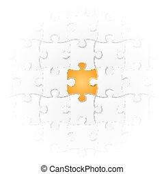 Jigsaw Puzzle - the very special part