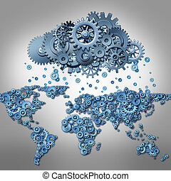 Cloud Computing Concept - Cloud computing Concept and global...