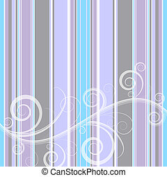 Stripes background (vector) - Gentle retro pastel stripes...