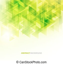 Green shiny technical background. Vector