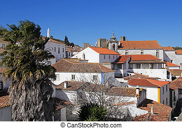beautiful architecture of Obidos, Portugal