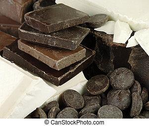 Varieties of Chocolate - Varieties of chocolate for baking...