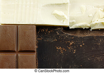 Varieties of Chocolate - Different types of chocolate...