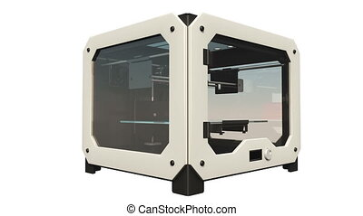 3D printer - image of 3D printer