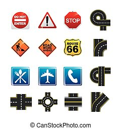 road infographics design, vector illustration eps10 graphic