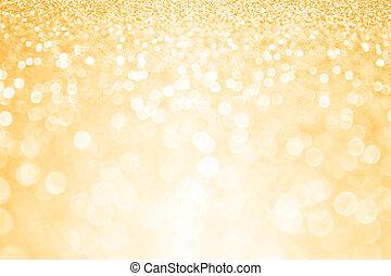 Gold Glitter Confetti Party Background