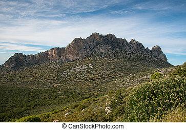 Pentadaktylos rocky mountain peaks in Cyprus - Famous...