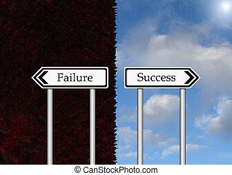 Failure and Success.