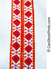 Traditional macedonian costume, details
