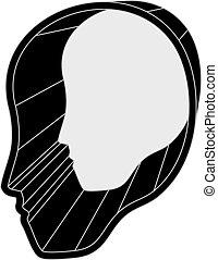 Face icon - Creative design of Face icon