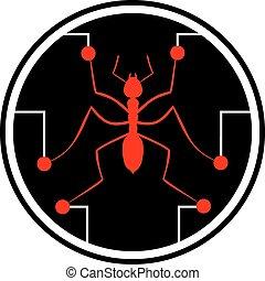 Icon ant - Creative design of Icon ant