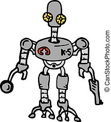 Rare robot - Creative design of Rare robot