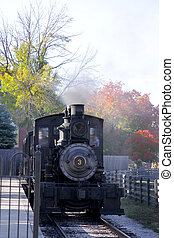 Steam engine - Old steam engine in Greenfield village...