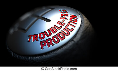 Trouble-Free Production on Car's Shift Knob. - Trouble-Free...