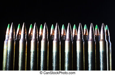 Long cartridges - Ammunition for rifles that has bullets...