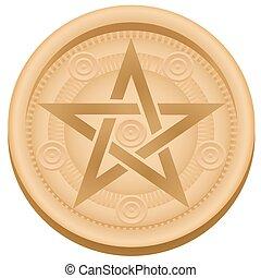 Pentacles Symbol Tarot Card Suit