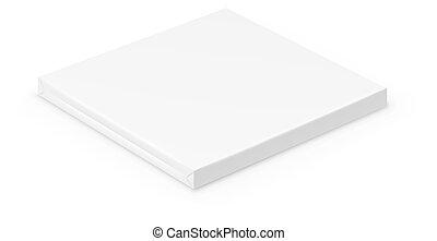 Box on white