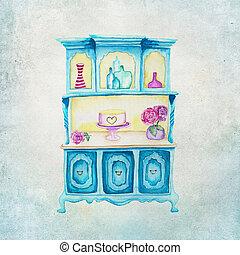Shabby Chic Illustration