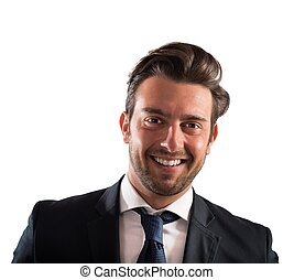 Successful businessman - Portrait of a businessman smiling...