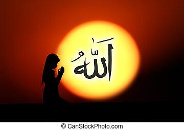 orando,