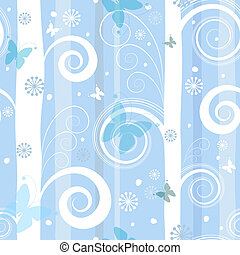 Seamless fantastic christmas pattern vector - Seamless...