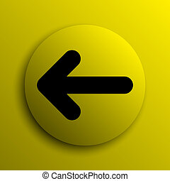 Left arrow icon