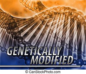 geneticamente, modificado, abstratos, conceito, digital,...