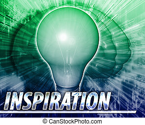 Inspiration Abstract concept digital illustration - Abstract...