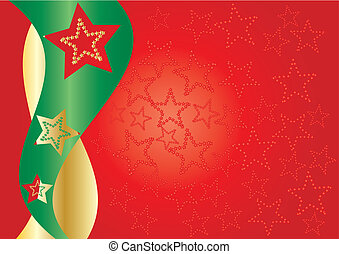 Red starry background - Red stars on background for your...
