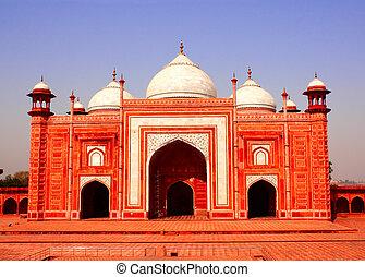 壮大な墓, モスク, インド,  masjid,  AGRA,  MAHAL,  TAJ