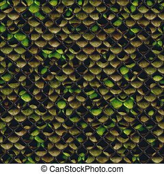 Seamless Reptile Skin Background