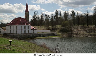Priory Palace in Gatchina - Priory Palace is an original...