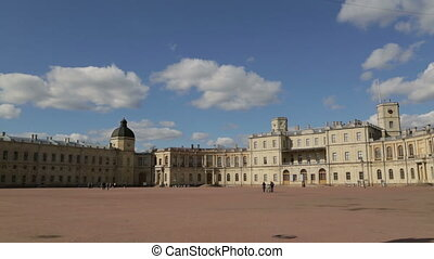 Great Gatchina Palace near Saint Petersburg The palace was...