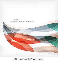 Business wave corporate background, flyer, brochure design...