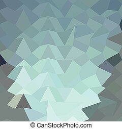 Cambridge Blue Abstract Low Polygon Background - Low polygon...
