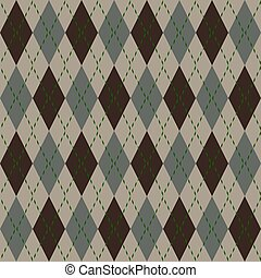 Argyle seamless pattern - Argyle knit pattern seamless...
