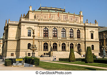 Rudolfinum Concert Hall - The Rudolfinum a 19th century...