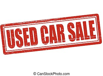 Used car sale
