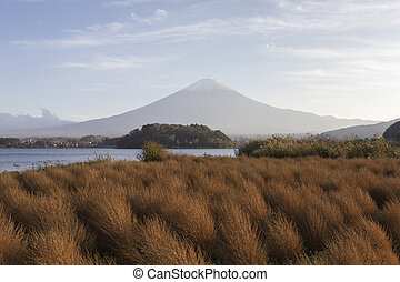 Mt.Fuji in autumn, Japan - This photo was shot from the area...