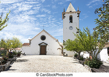 curch in Ameixial in the north of the algarve portugal