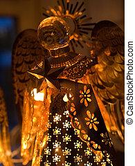 Nativity Star of Bethlehem Christmas Decoration Golden...