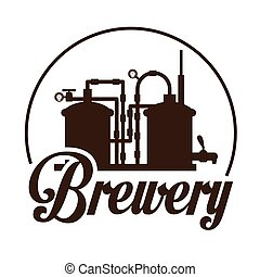 Beer design - Beer design over white background, vector...