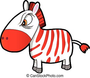 Nasty Tough Zebra Vector art - Nasty Tough Zebra Vector...