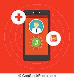 health emergency call mobile phone