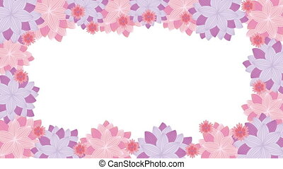 Flowers Video animation - Flowers background, Video...