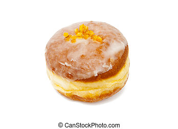 Doughnut isolated on the white background