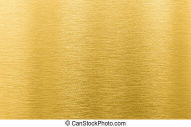 gold brushed metal texture or background - golden metal...